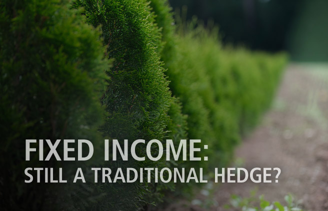 Fixed income - still a traditional hedge?