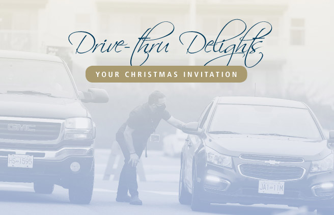 Assante Christmas 2020: Drive Thru Delights