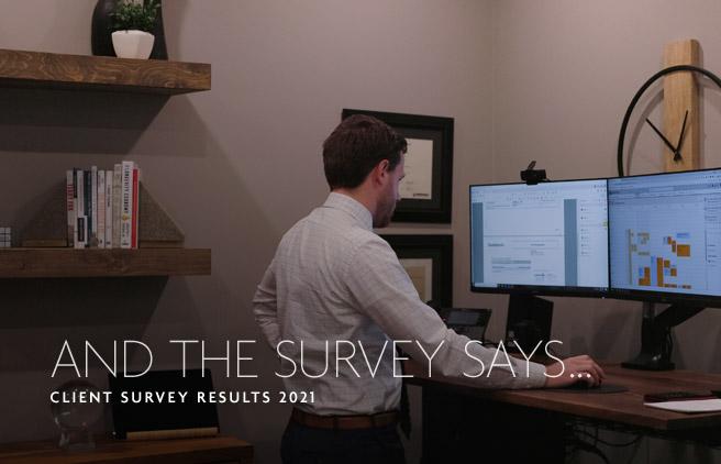 Client Survey Results - Assante Willems Wealth Planning